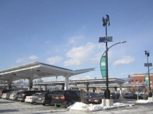 Solar carport at Whole Foods in Brooklyn, NY. Photo by Solaire Generation.