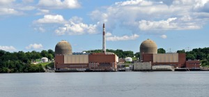 New York's Indian Point reactors. Photo from wikipedia.