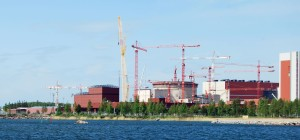 An Areva EPR reactor under construction in Finland--way over-budget and behind schedule.