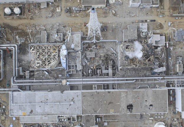 Fukushima Aerial View