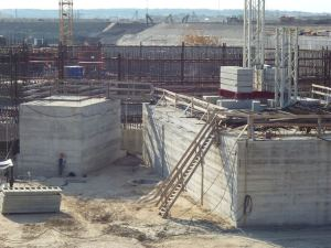 Construction of the Kaliningrad reactor has not progressed very far, and it's not likely to ever be completed.