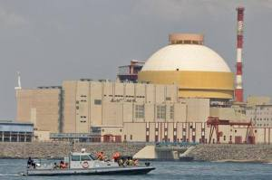 Part of India's Koodankulam nuclear complex.