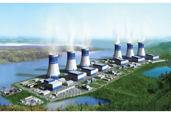 "When most people think of ""small"" reactors, they probably don't envision huge nuclear sites like this rendering. But that's exactly what the nuclear industry sees as their future."