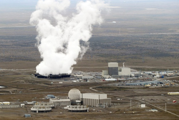 New research indicates that Energy Northwest's Columbia reactor (background) may be at greater risk of earthquake damage than any reactor in the U.S.