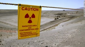 Part of the Hanford nuclear reservation.