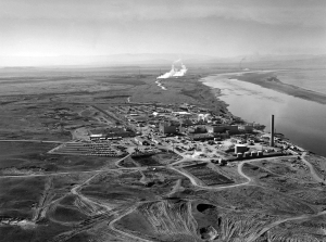 Part of the sprawling Hanford complex along the Columbia River.
