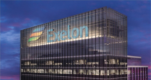 This building--an artist's rendition--doesn't actually exist. Yet. But now that Exelon is the nation's largest electric utility, who knows what it could do?