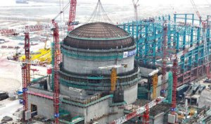 China's Taishan 1 and 2 reactors, now under construction, may be affected by Areva's pressure vessel problems.