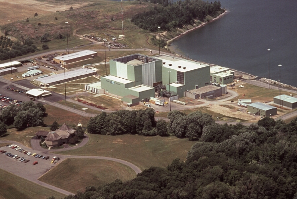 Exelon's Ginna reactor, on Lake Ontario. Photo from IAEA.