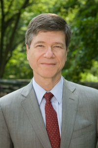 Dr. Jeffrey Sachs, head of Columbia University's Earth Institute. Photo from Widipedia.