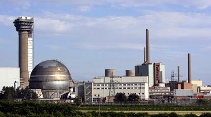 Part of the Sellafield nuclear complex in the U.K. Photo from Greenpeace UK.
