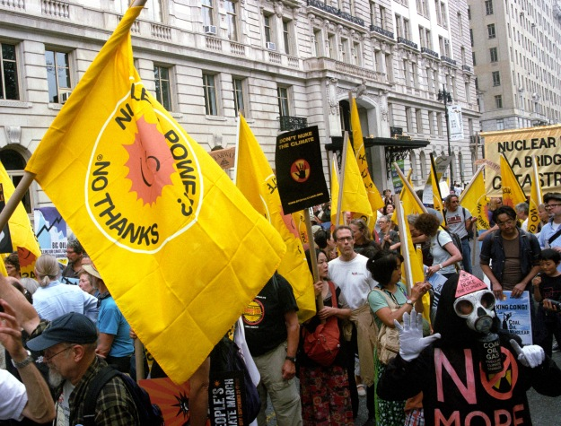 Thousands joined the nuclear-free, carbon-free contingent at last September's People's Climate March in New York City. The unexpectedly large turnout--followed by tens of thousands of comments and petitions to the EPA, helped open the agency's eyes to first understand our position and then realize it made a lot of sense.