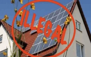 Some Floridians are not happy with current law prohibiting them from owning their own rooftop solar installations.