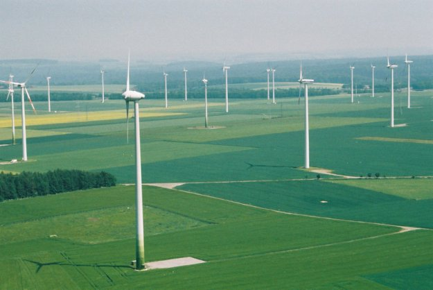 A wind farm in south-central Kansas. Wind has brought enormous benefits to the state over the past decade. Is the state ready to throw that away for ideological reasons?