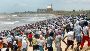 After Fukushima, there were large protests at Kudankulam.