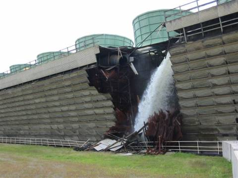 A 2007 cooling tower collapse at Vermont Yankee didn't exactly reassure Vermonters that the plant was well-built or well-operated.