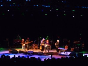 Bonnie Raitt and Crosby, Stills and Nash at the MUSE concert August 2011. Photo by Michael Mariotte.