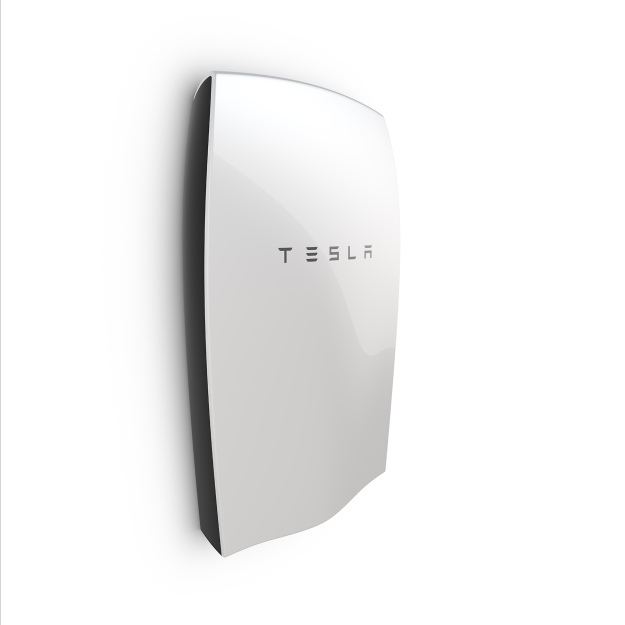 The Tesla PowerWall. Photo by Tesla.