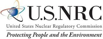 The NRC's logo. Some might question the agency's commitment to its tag line.