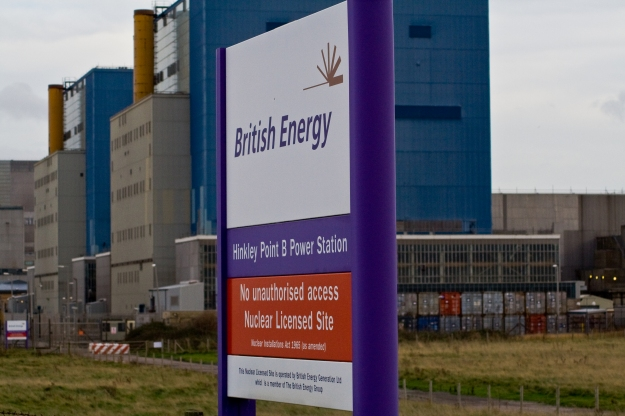 The Hinkley Point site in southern England, where the UK wants to build the single most expensive nuclear reactor ever considered by any nation.
