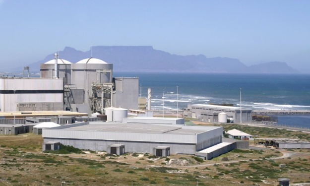 South Africa's only nuclear power station, the long-troubled two-unit, 1800MW Koeberg reactor site.