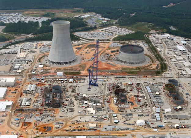 Still got a long way to go....Vogtle Units 3 (left) and 4, July 30, 2015.